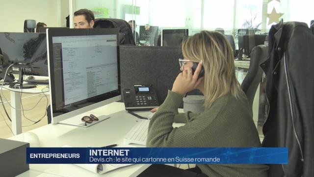 Devis.ch: le site qui cartonne en Suisse romande