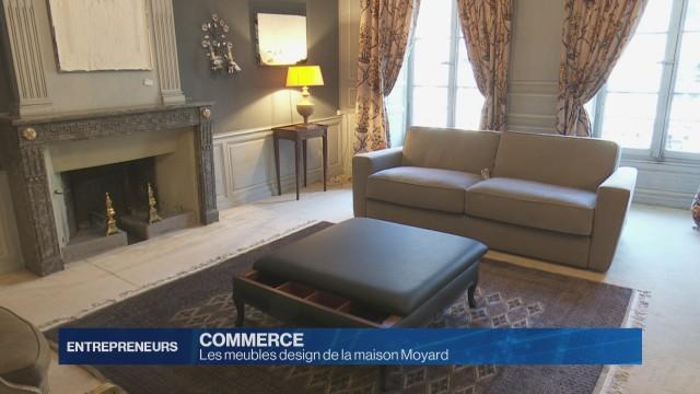 Les meubles design de la maison Moyard
