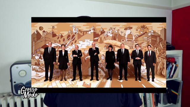 La nouvelle photo officielle du Conseil Fédéral