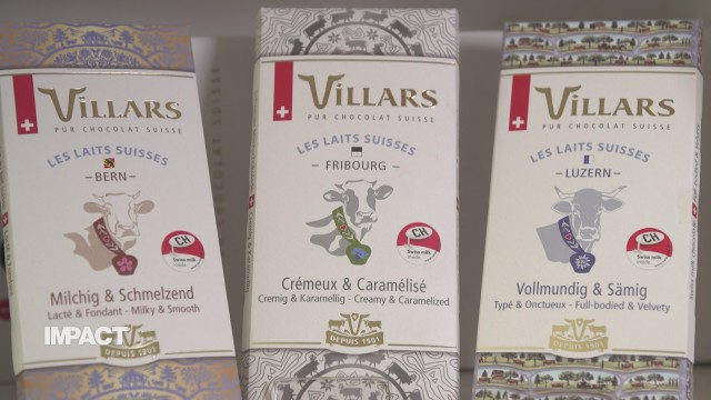 Villars et la chocolaterie