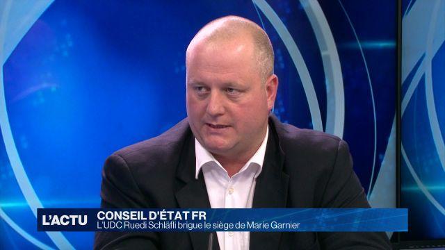 Ruedi Schläfli, candidat UDC au Conseil d'Etat