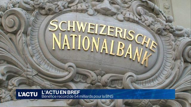Bénéfice record de 54 milliards pour la BNS