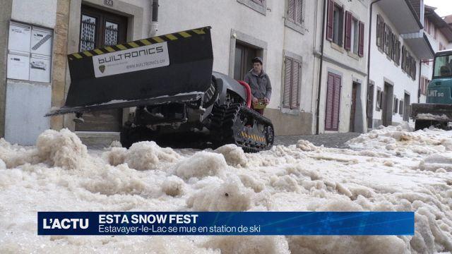 Esta Snow Fest premier du nom