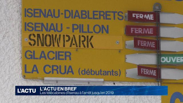 Les télécabines d'Isenau à l'arrêt jusqu'en 2019