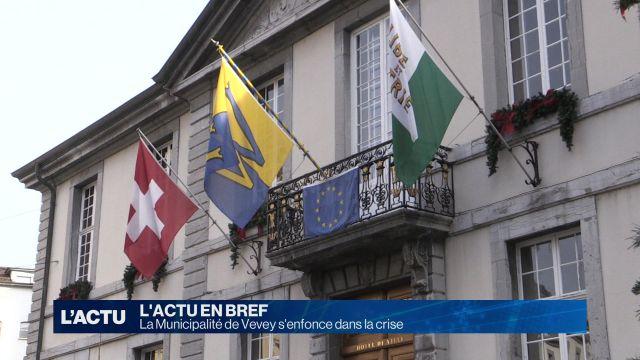 La Municipalité de Vevey s'enfonce dans la crise
