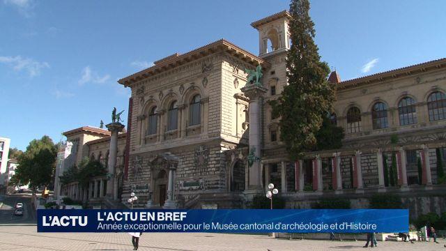 Le Muséed'archéologie et d'Histoire a cartonné en 2017