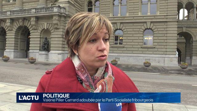 Valérie Piller Carrard adoubée par le Parti Socialiste