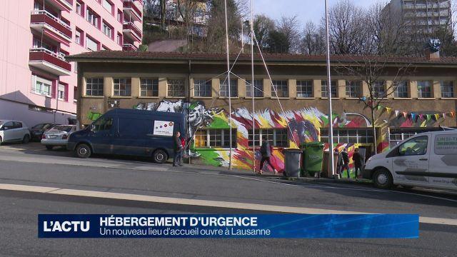 Lausanne se dote d'un nouveau lieu d'accueil d'urgence