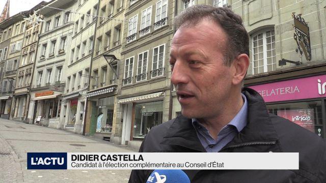 Didier Castella officiellement candidat