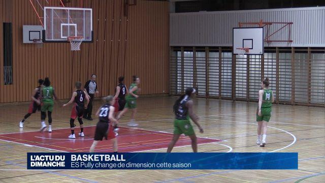 Basket : ES Pully change de dimension cette saison