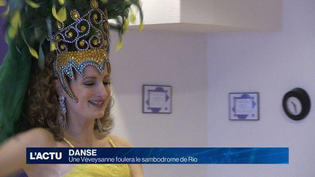 Une Veveysanne foulera le sambodrome de Rio