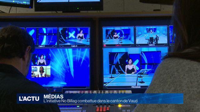 L'initiative No Billag combattue dans le canton de Vaud