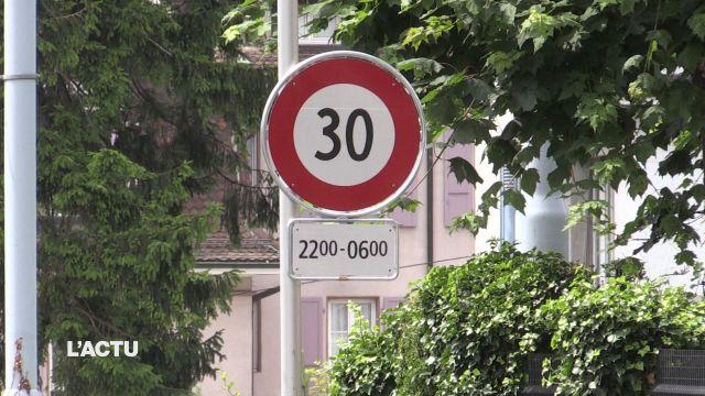 Les deux zones 30 km/h de nuit à Lausanne fonctionnent bien