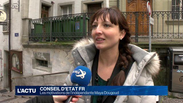 Maya Dougoud, candidate indépendante, se dévoile