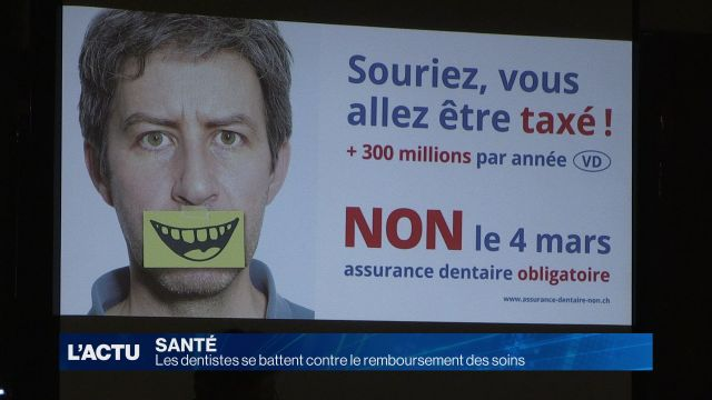 Les dentistes se battent contre le remboursement des soins