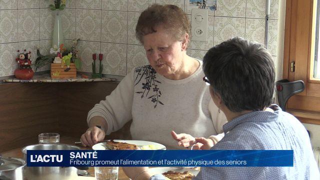 Fribourg encourage les seniors à bien manger et bouger