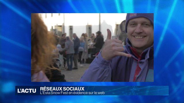 Du ski urbain à Estavayer et sur les réseaux sociaux