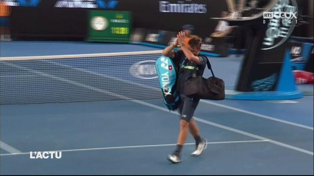 Stan Wawrinka éliminé au 2e tour de l'Open d'Australie