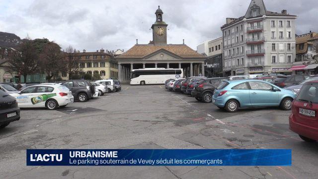 Le parking souterrain de Vevey séduit les commerçants