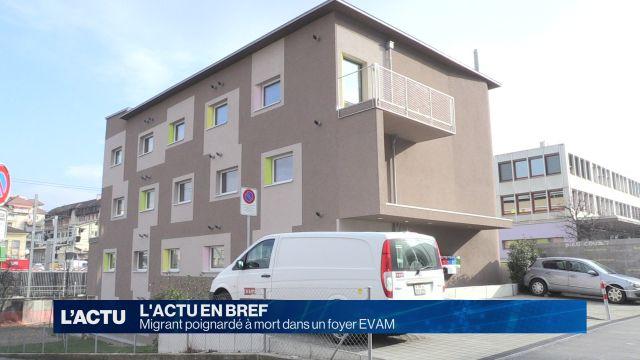 Migrant poignardé à mort dans un foyer EVAM