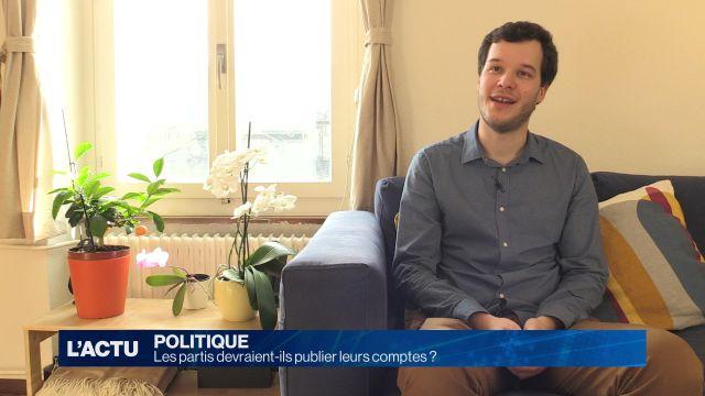Les fribourgeois se prononcent sur le financement des partis