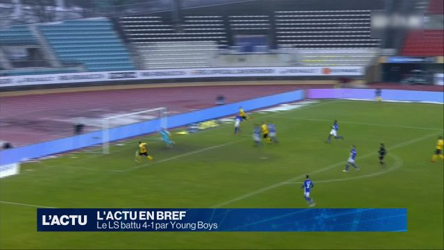 Le LS battu 4-1 par Young Boys