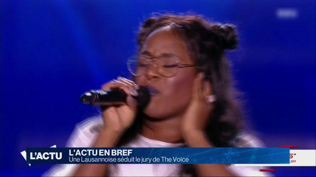 Une Lausannoise séduit le jury de The Voice