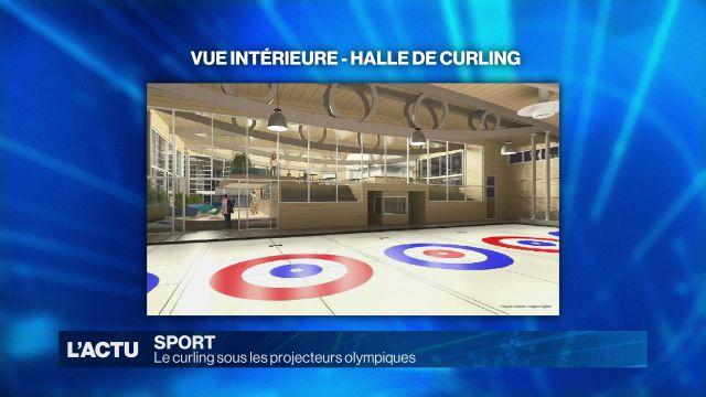 Le curling sous les projecteurs olympiques