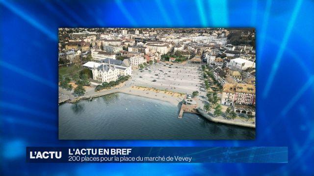 200 places pour la place du marché de Vevey