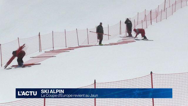 La Coupe d'Europe de ski alpin revient au Jaun