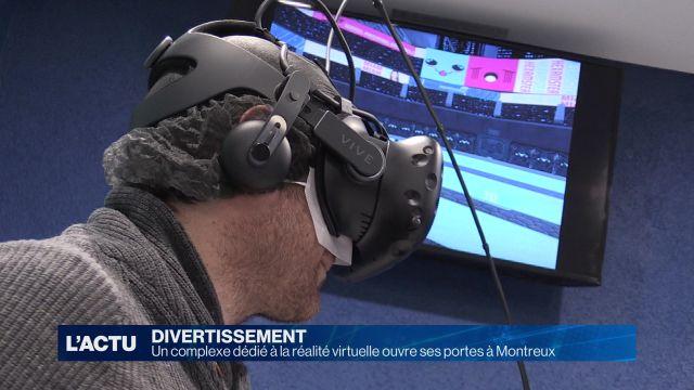 Nouveau complexe dédié à la réalité virtuelle à Montreux