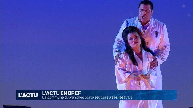 La commune d'Avenches vole au secours de ses festivals