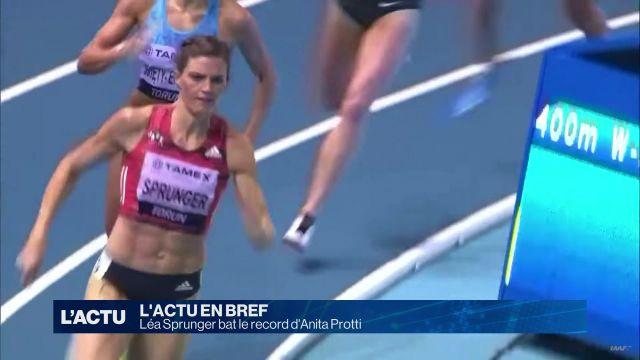 Record pour Léa Sprunger