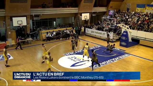 Les Riviera Lakers dominent le BBC Monthey