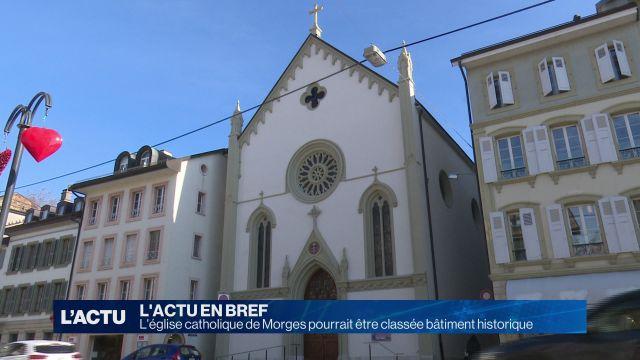 L'église catholique de Morges pourrait être classée