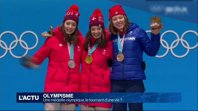Une médaille olympique, le tournant d'une vie ?