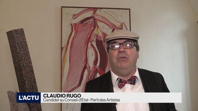 Rencontre avec le candidat Claudio Rugo