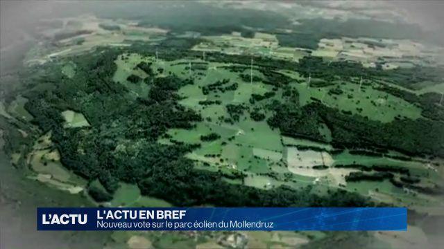 Nouveau vote sur le parc éolien du Mollendruz