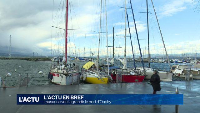 Lausanne veut agrandir le port d'Ouchy