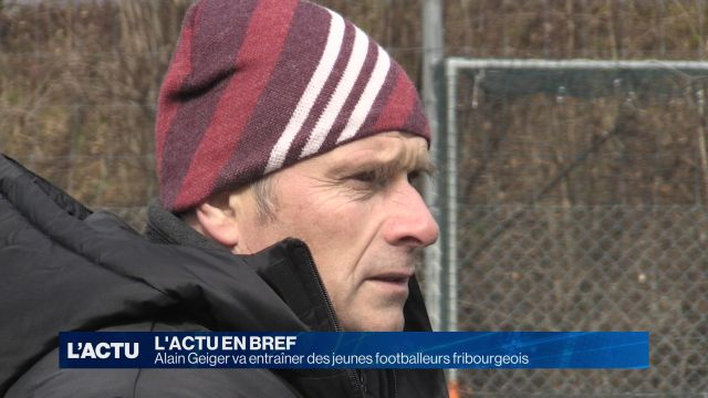 Alain Geiger va entraîner des footballeurs fribourgeois