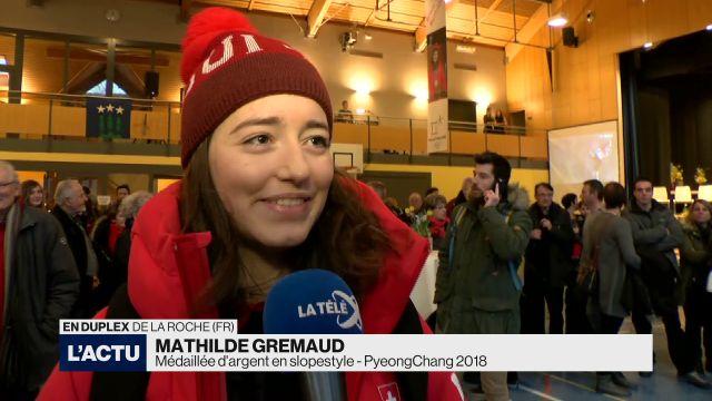 La Roche célèbre l'argent de Mathilde Gremaud