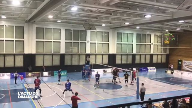 Le LUC Volleyball s'incline 3-2 à Chênois