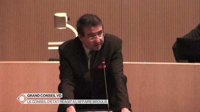 Le Grand Conseil vaudois débat de l'affaire Broulis