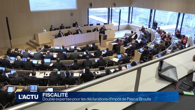 Double expertise pour les impôts de Pascal Broulis