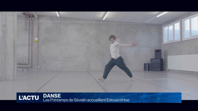 Edouard Hue danse aux Printemps de Sévelin