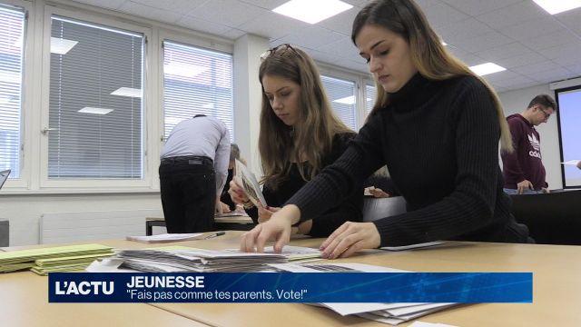 Payerne appelle les jeunes à voter