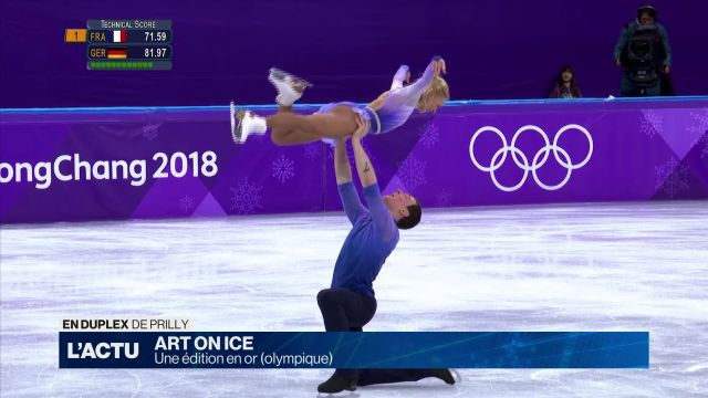 Art on Ice 2018: une édition en or (olympique)