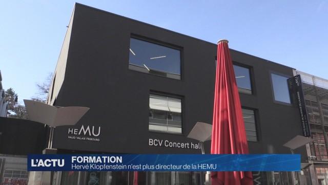 Hervé Klopfenstein n'est plus directeur de la HEMU