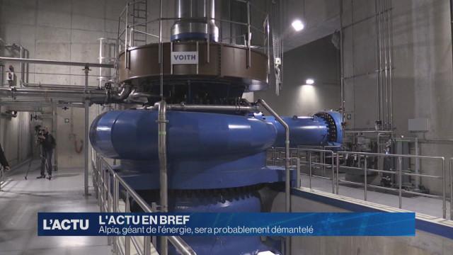 Alpiq, géant de l'énergie, sera probablement démantelé