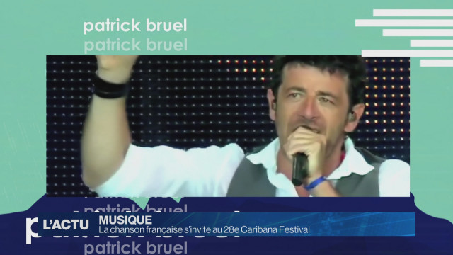 La chanson française s'invite au Caribana Festival